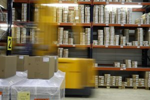 Picking operation in a warehouse