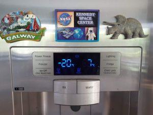 fridge thermostat